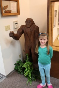 Maile and Little Bigfoot