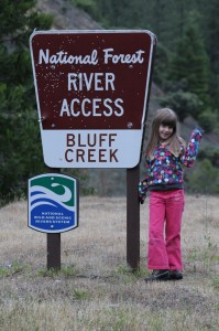 Maile at Bluff Creek